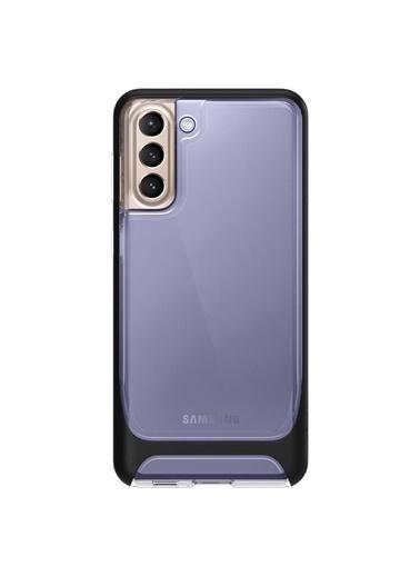 Spigen Galaxy S21 Plus Kılıf, Spigen Neo Hybrid Crystal Siyah